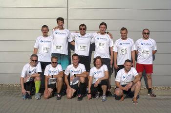 PreSens Team at Company Run 2018