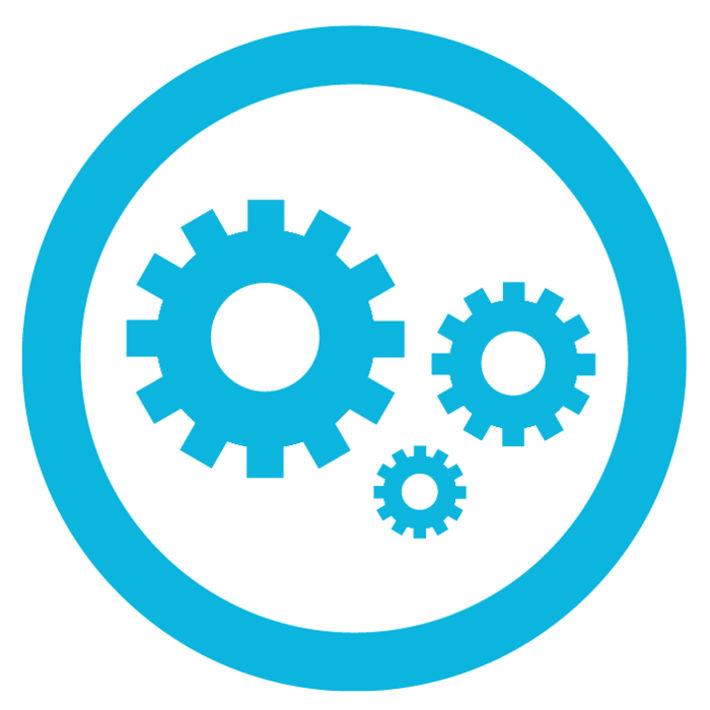 PreSens Mechanical Design Icon