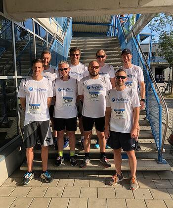 PreSens team at the Company Run 2019 in Regensburg