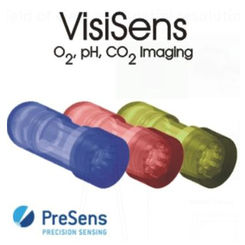 Screen of VisiSens™ AnalytiCal 4 software to control up to three different VisiSens™ detector units