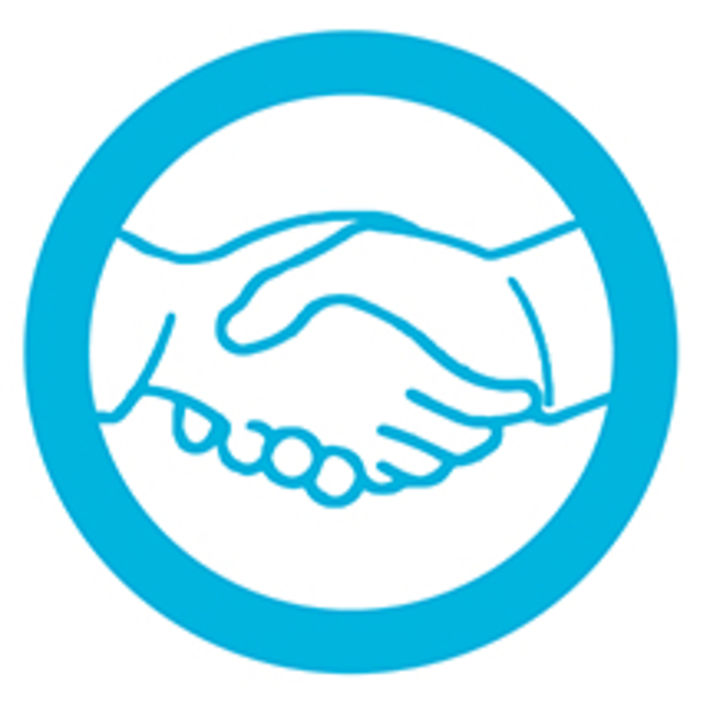 Specifications icon shaking hands