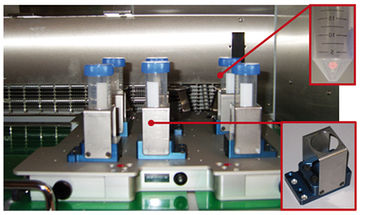 TubeSpin bioreactors on the SFR; enlarged: integrated DO sensor