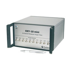 Multi-channel fiber optic oxygen meter OXY-10 mini