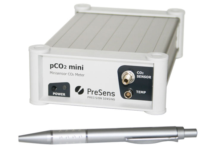 pCO2 mini fiber optic CO2 meter