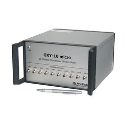 Multi-channel fiber optic oxygen meter OXY-10 micro