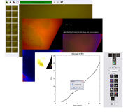 Screens of VisiSens™ AnalytiCal 3 software to control the VisiSens™ A3 CO2 imaging system