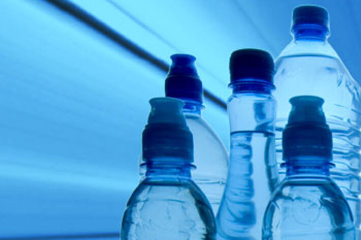 category image food & beverage, PET bottles