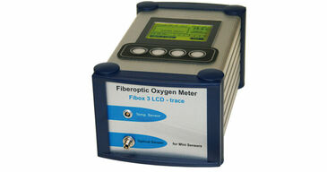 Fibox 3 LCD trace fiber optic oxygen meter