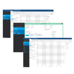Screens of PreSens Measurement Studio 2 software for simultaneous control of multiple devices