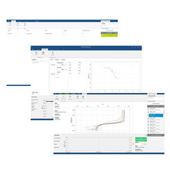 Screens of PreSens Profiling Studio software for measurement control with the Automated Micromanipulator
