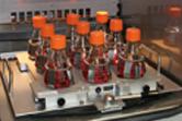 SFR Shake Flask Reader inside a shaking incubator